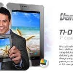 Advan Vandroid T1D, Tablet Android 3G, Harga Murah
