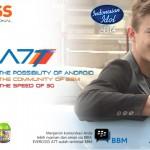 Harga Dan Spesifikasi Evercoss A7T, Android Dual-Core, Bisa BBM-an