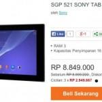 Sony Xperia Z2 Tablet Masuk Indonesia, Ini Harganya