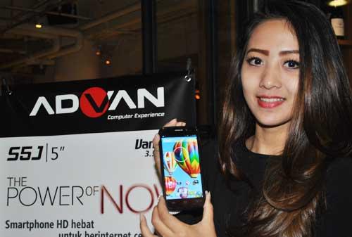 Harga HP Advan Vandroid Bulan Agustus 2014