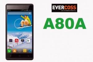Evercoss A80A, Usung CPU Octa Core Dan Kamera 13MP