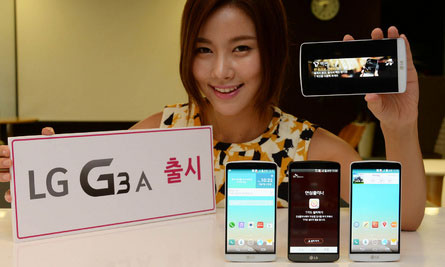 LG G3 A, Phablet 5 Inci Full HD, CPU Quad Core