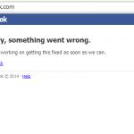 Facebook Sempat Down Lagi!