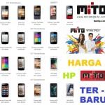 Daftar Harga Terbaru HP Mito Bulan November – Desember 2014