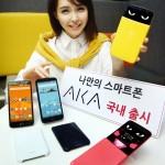 Desain Unik LG AKA, Spesifikasi Smartphone Android KitKat Quad Core