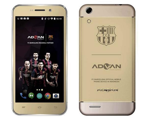 Spesifikasi Advan Barca 5 S5Q Android KitKat Octa Core Harga 1 Jutaan