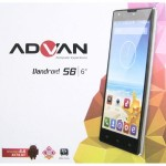 Spesifikasi dan Harga Advan Vandroid S6, Smartphone Android KitKat Kamera 13MP