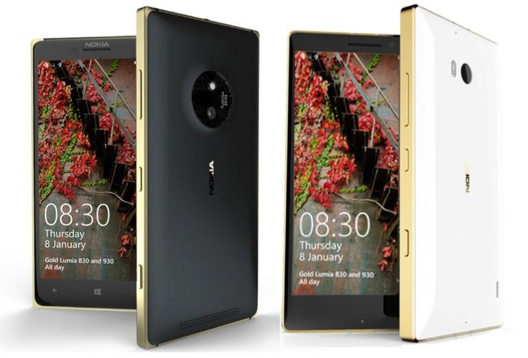 Golden Lumia 830 dan Golden Lumia 930, Spesifikasi dan Harga Windows Phone 8.1