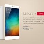 Xiaomi Mi Note Pro, Harga dan Spesifikasi Phablet 4G LTE