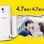 Coolpad Ivvi K1 Mini, Harga dan Spesifikasi Smartphone Tertipis di Dunia