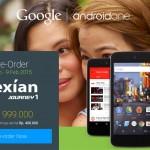 Spesifikasi Nexian Journey 1, Harga dan Tanggal Pre Order Android One