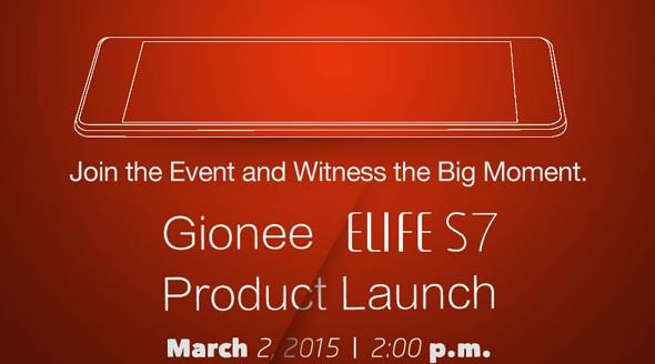 spesifikasi Gionee Elife S7