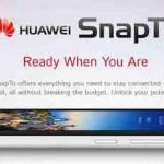 Spesifikasi Huawei SnapTo, Smartphone Pesaing Moto G Seharga Rp 2,3 Jutaan Dengan Kemampuan 4G LTE