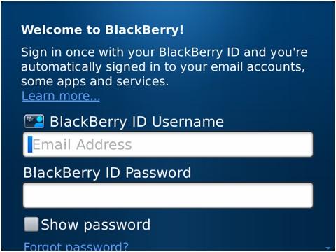 Cara Daftar Blackberry ID