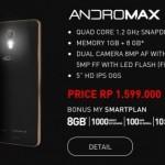 Harga Smartfren Andromax R, Spesifikasi Andromax 4G LTE Paling Tinggi