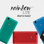 Spesifikasi Wiko Rainbow Lite, Resmi Dirilis Untuk Para Penggila Selfie