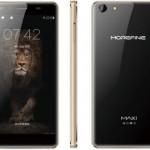 Spesifikasi MoreFine Max 1, Smartphone $130 Dengan Kaca Lengkung 2.5D