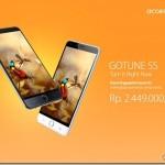 Spesifikasi AccessGo Gotune 5S, Resmi Dijual Di Indonesia Seharga Rp 2 Jutaan Saja