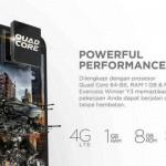 Spesifikasi Evercoss Winner Y3, Smartphone Sejutaan Dengan 4G LTE