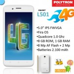 Spesifikasi Polytron Rocket L501, Smartphone 4G LTE Murah Meriah