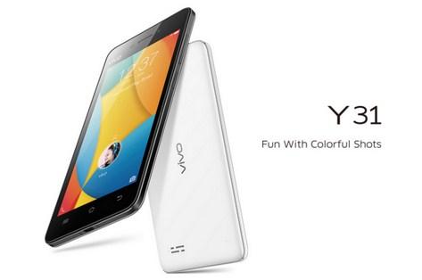 Harga Vivo Y31, Spesifikasi Smartphone Android Lollipop Kamera 8MP