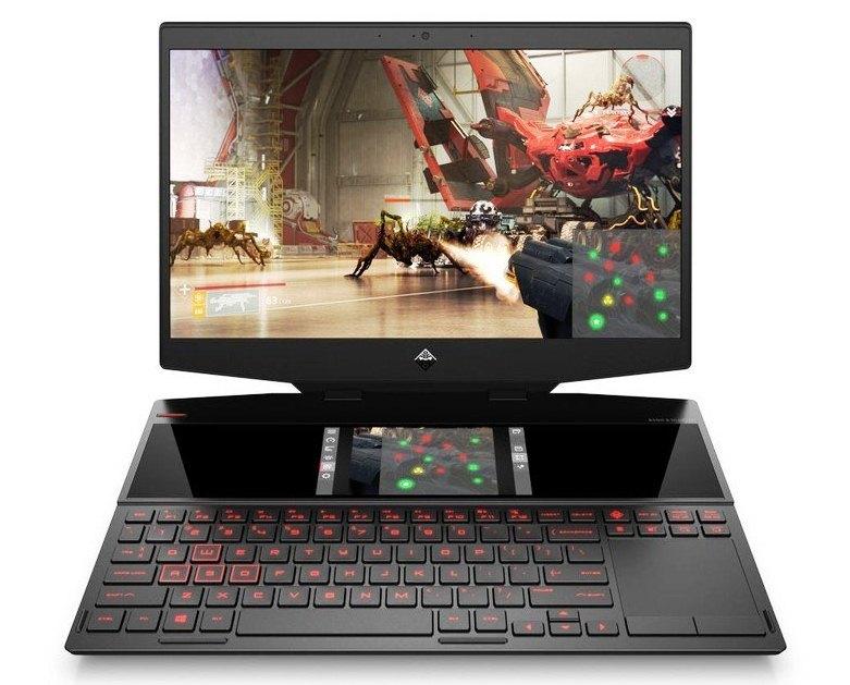 HP Omen X 2S akan Jual Laptop Gaming dengan Layar Kedua di atas Keyboard