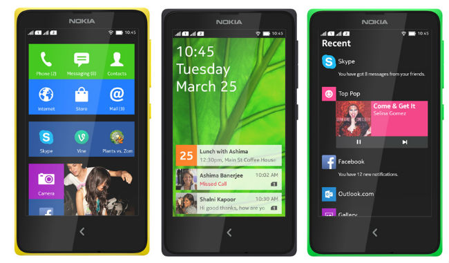 Nokia X2 Android Diluncurkan