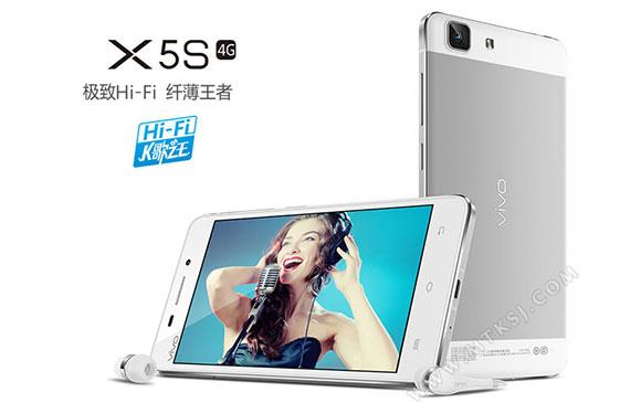 Spesifkasi Vivo X5S, Smartphone Tipis dengan Prosesor Octa Core 64-bit
