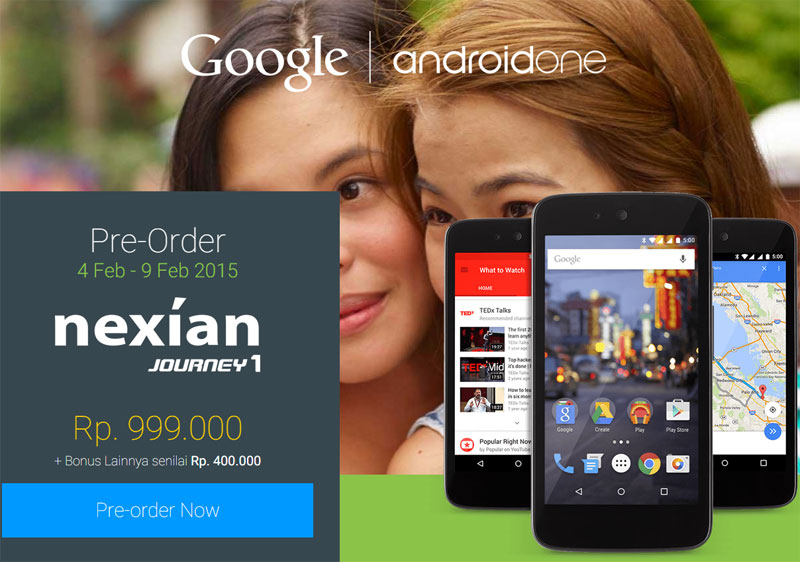 Nexian Journey 1 Android One