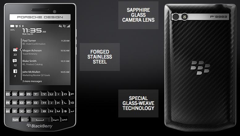 BlackBerry P'9983