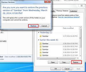 Cara Mengembalikan File Yang Terhapus Tanpa Software