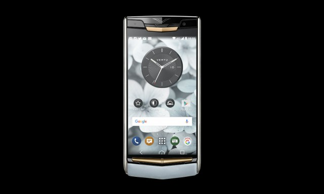 Vertu Signature Touch Sky Blue