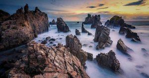 Wisata Pantai Gigi Hiu Lampung, Gugusan Batu Karang Indah